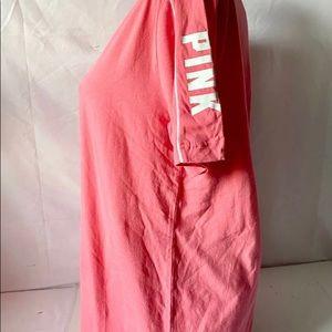 PINK Victoria's Secret Tops - New with tag pink Victoria Secret campus T-shirt